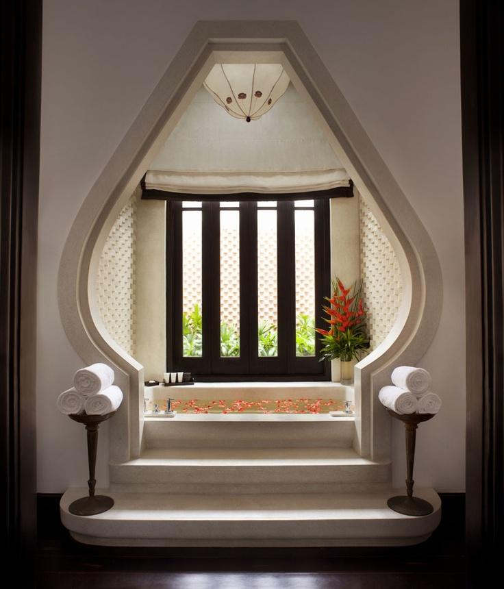Seaside Villa Bathroom - InterContinental Danang Sun Peninsula Resort