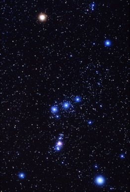 Orion's Belt ~	our constellation