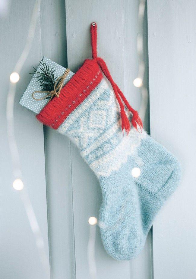 Marius julestrømpe