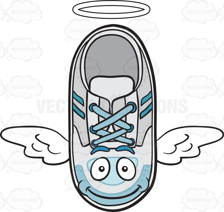 Flying Sneakers With Halo And Wings Emoji #angel #angelwings #angelic #athleticshoes #casualwear #comfortableshoes #feet #foot #footwear #halo #heavenly #insole #kicks #lowcut #rubber #rubbershoes #rubbersole #runners #shoe #shoelaces #shoelace #shoes #smile #smiling #sneakers #sole #stripes #trainer #trainers #whitehalo #wings #vector #clipart #stock