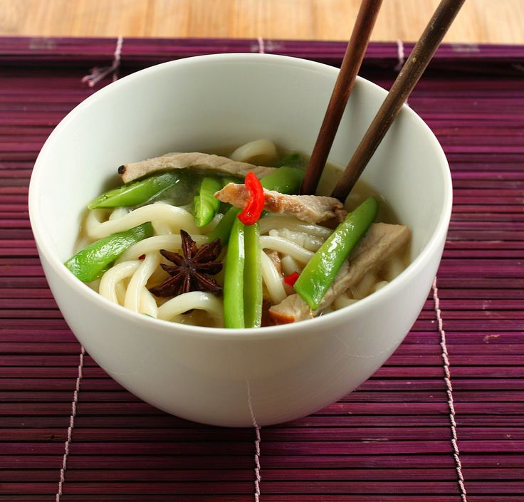 Pork udon soup recipe