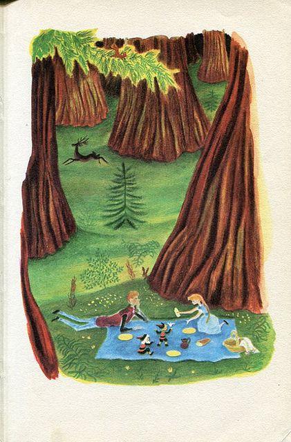 Marcel Tillard illustration from ''Gnomobile'' 1959