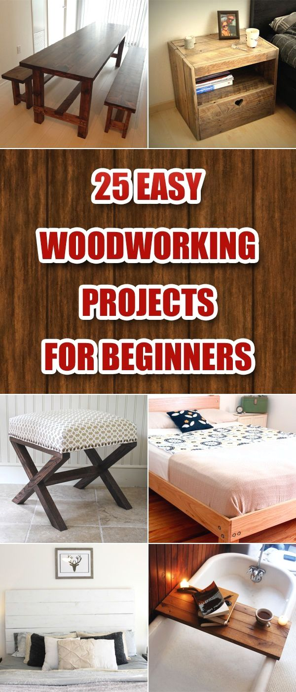 10 Woodwrorking Easy Project Easy Small Woodworking Plans For Your