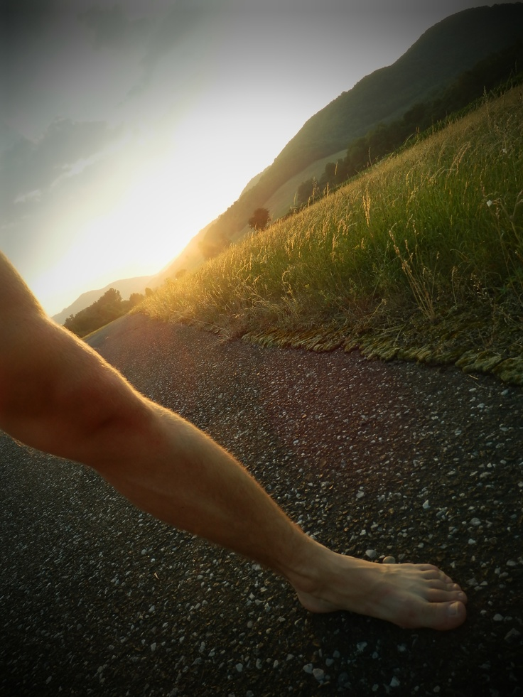Romantic Landscape With My Leg Which Is Finally Healthy 2012
