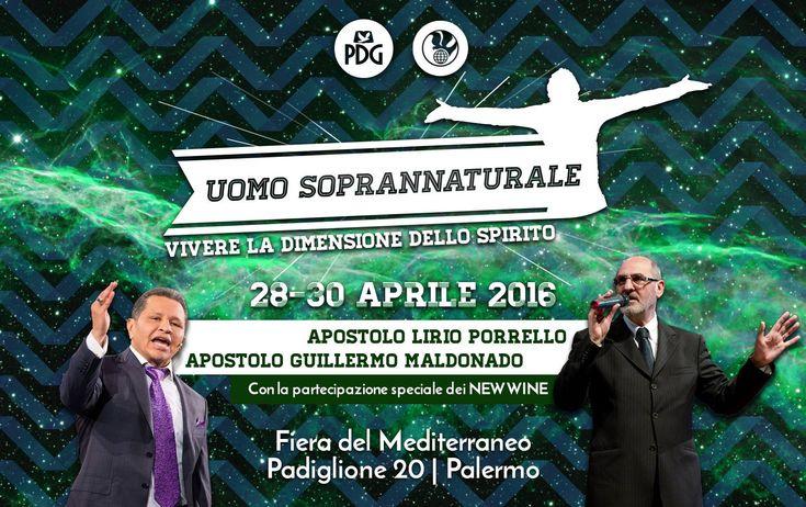 Bisogna comprare un biglietto per andare ad ascoltare il falso apostolo Guillermo Maldonado |-------> Dalla pagina Facebook della Chiesa Parola della Grazia di Palermo: 'INFO PRENOTAZIONI CONFER...