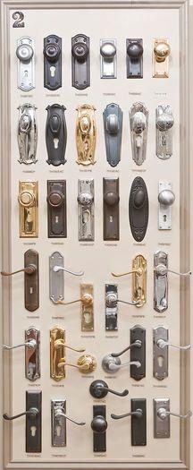 Deco Style Chrome Door Handle, Door Knobs