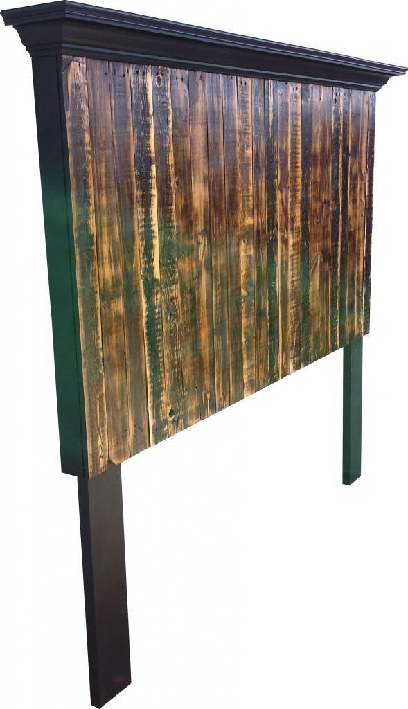 pallet headboard DIY