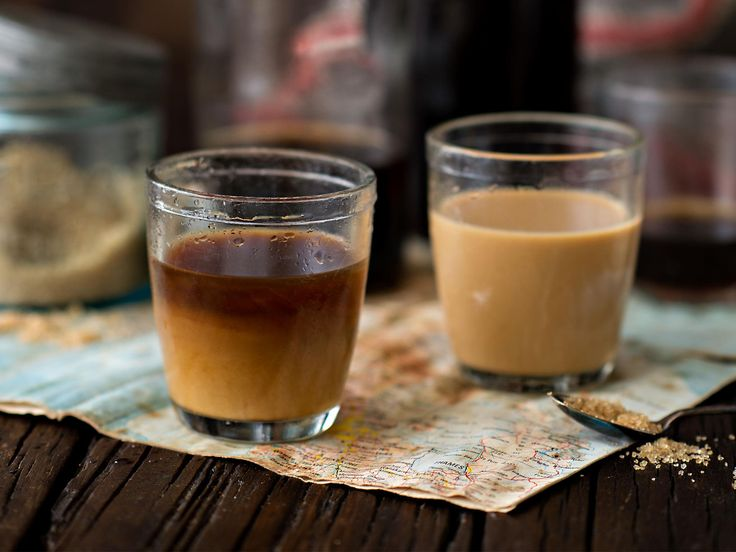 Cold brew camp coffee