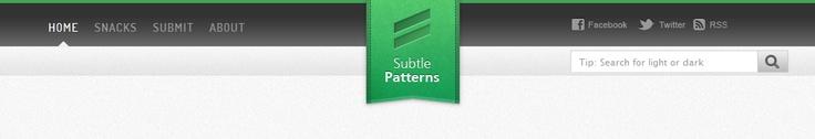 a beautiful, clean header design & a great source of subtle backgrounds: subtlepatterns.com