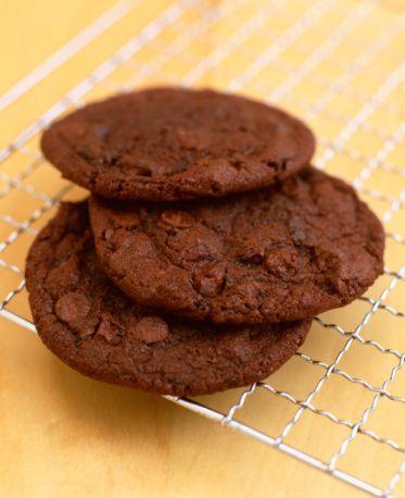 E come promesso arrivano i Biscotti Proteici al cioccolatoooo…buoniii!!! :)