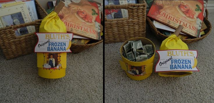 Fantastic idea for a gift!: Christmas Presents, Gifts Ideas, Bananas Stands, Fans, Money Holders, Arrested Development, Awesome Gifts, Xmas Gifts, Development Bananas