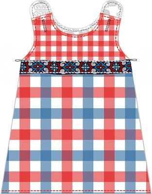 Free sewing tutorial and pattern Dutch baby dress (4 different sizes)