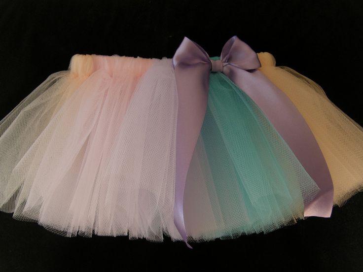 Röcke - 4 Farben nach Wunsch Baby TUTU Rock in 30 Farben - ein Designerstück von Candelita123 bei DaWanda