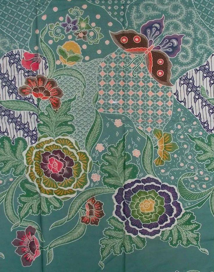 Encim hand-pressed Batik