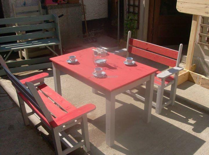 17 best ideas about pallet furniture for sale on pinterest - Table cuisine palette ...