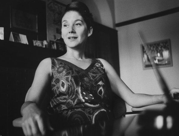 Nadine Gordimer, Zuid Afrikaans schrijfster, 1923-2011.  ' I never stopped believing in the goodness of man'.