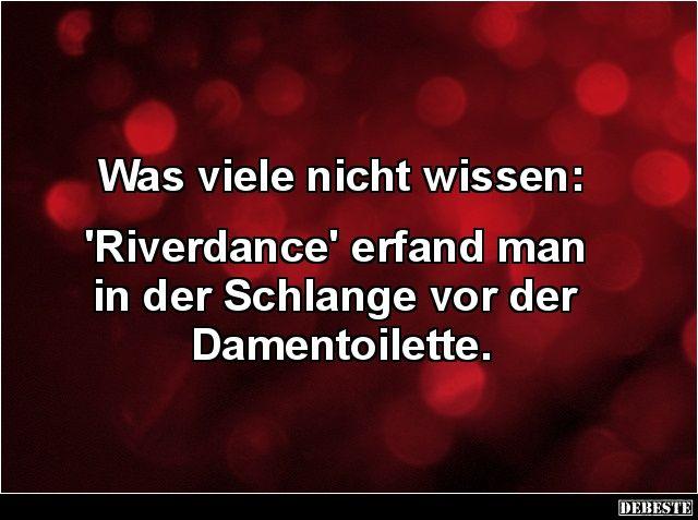 Was viele nicht wissen: 'Riverdance' erfand man in...