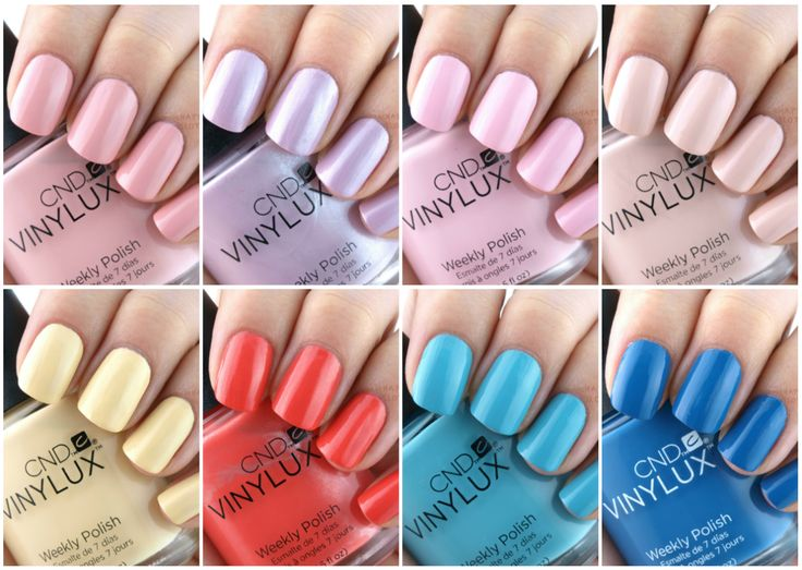 CND Vinlux Flirtation Collection