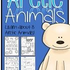 Arctic Animals Unit  (This pack has EVERYTHING you need to teach about 8 different Arctic animals!  Students will learn about height, habitat, diet, predators, and fun facts in this 50 page slideshow. The slideshow contains information on 8 animals: Polar Bear Snowy Owl Walrus Puffin Orca (Killer Whale) Caribou Harp Seal Arctic Fox