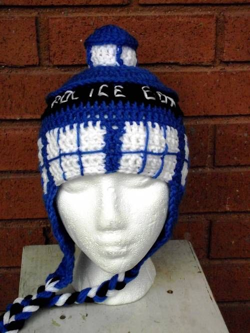 Free Crochet Pattern Tardis Hat : 17 Best images about Crochet Dr Who on Pinterest Free ...