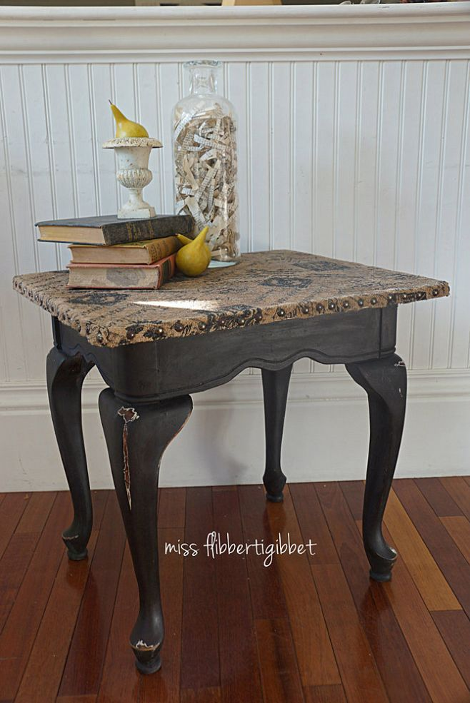 Hometalk :: I've made a burlap topped table before but purchased a piece of glass…