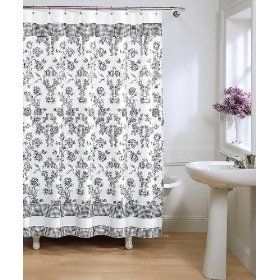 french toile chic vs cheap shower curtains french