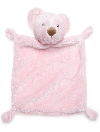 Doudou ourson Bébé garçon - Kiabi - 3,49€