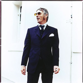 Paul Weller aka The Modfather. The Jam are such a great band and really influenced many 90s bands with style and music.