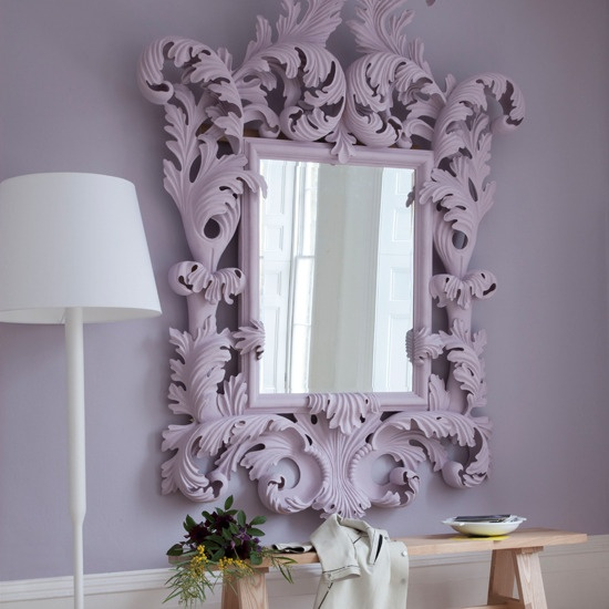 Who's The Fairest Of Them All?Decor, Wall Colors, Beautiful Mirrors, Hallways, Frames, Purple Mirrors, Room Ideas, My Style, Mirrors Mirrors