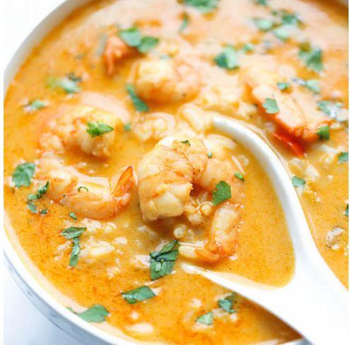 La soupe de crevettes thaïlandaise