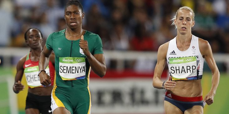 """Aug 22, 2016 - """"A Team GB athlete has claimed that rules allowing hyperandrogenous athlete Caster Semenya to compete in women's sports are unfair – after she took Olympic Gold...The runner was subjected to humiliating gender tests back in 2009 – after media controversy over her """"abnormally"""" high testosterone level for a female athlete. Semenya, who is chromosomally female, is believed to have a rare hyperandrogenist intersex condition that leads to the production of more testosterone…"""