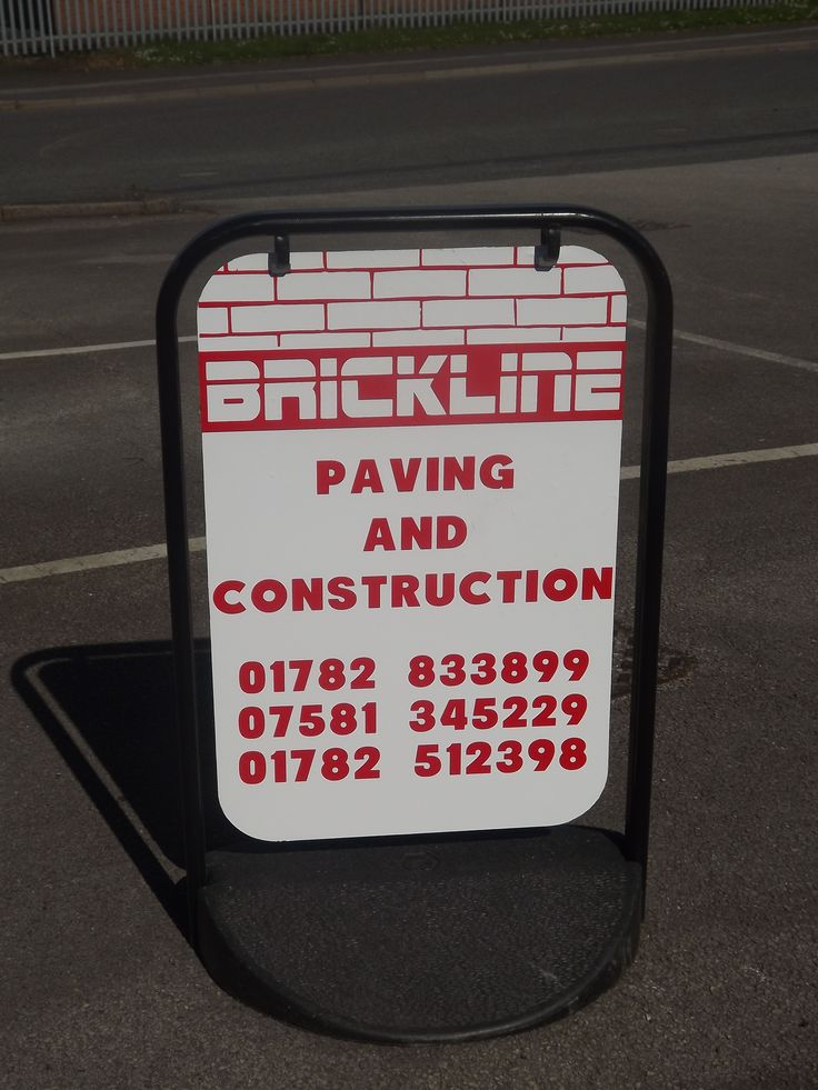 Freestanding business advertising board designed and produced by buzzworx newcastle under lyme car stickerscar