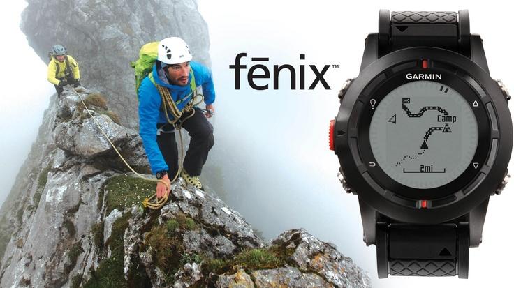 #Garmin lance aujourd'hui, la #Fenix, une montre #GPS dédiée à l'alpinisme et à la randonnée en montagne