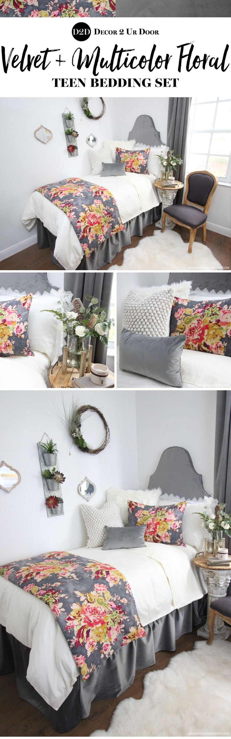 414 best Teen Room Decorating images on Pinterest | Twin xl ...