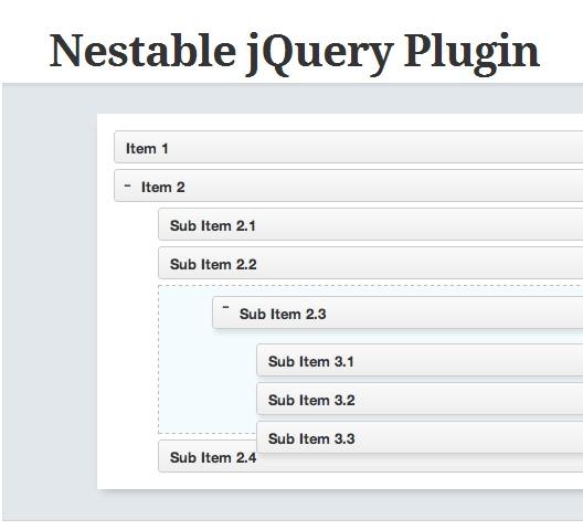 http://dbushell.com/2012/06/17/nestable-jquery-plugin/