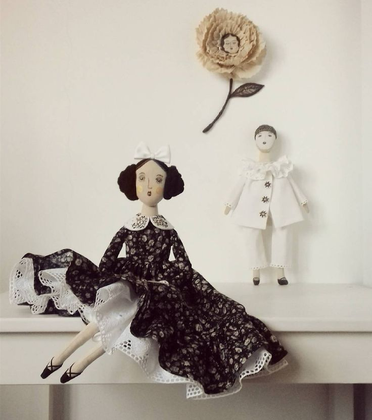"""120 Me gusta, 21 comentarios - @anna_love_dolls en Instagram: """"So little history of these dolls, once I dreamed...Dreamy rose, who lives in a small Rose garden…"""""""