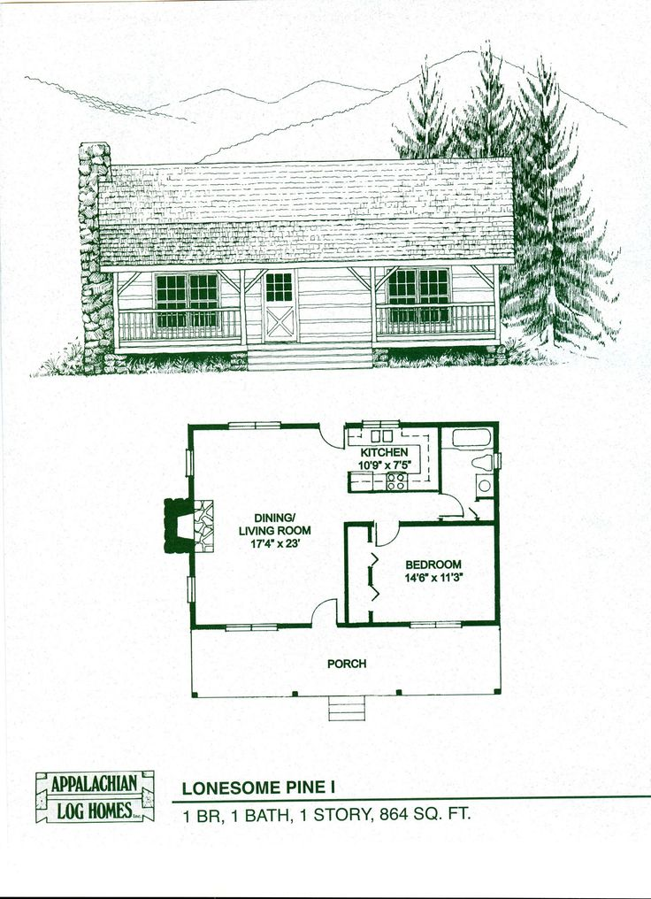 Log house layouts