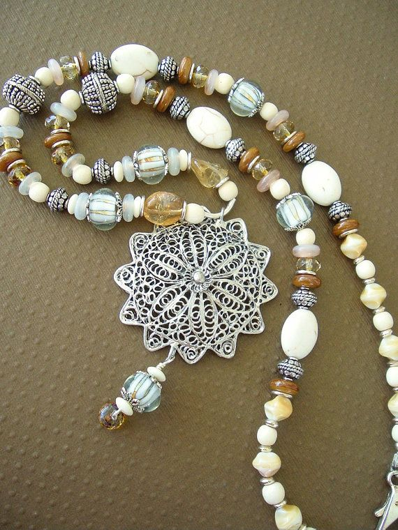 Boho Necklace Bohemian Jewelry Southwest Jewelry by BohoStyleMe