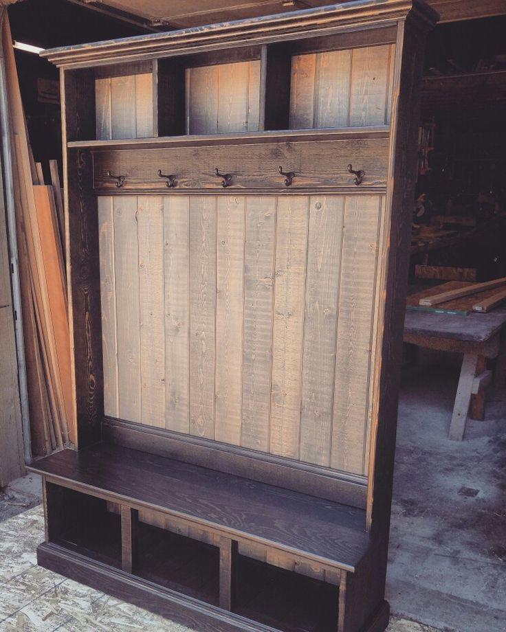 best 20 industrial hall trees ideas on pinterest. Black Bedroom Furniture Sets. Home Design Ideas