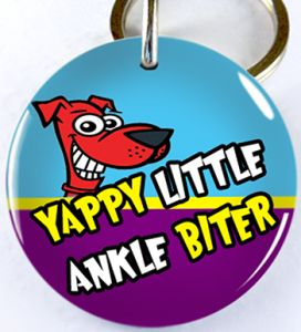 yappy-little-ankle-biter-custom-pet-id-tags-double-sided-etiquetas-de-identificacion-de-mascotas