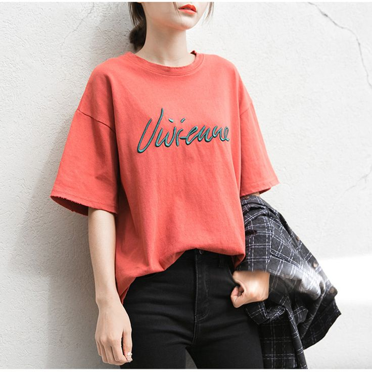 >> Click to Buy << T-Shirt,Runway Fashion Letter TShirt Woman 2017 Spring Summer Linen Cotton Beige Color Short Sleeve Women T-Shirt Camiseta Mujer #Affiliate