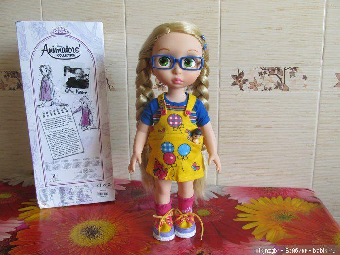 Продам куколку принцесса Дисней, Рапунцель, куколка куплена в мае 2016г. Малышка из взрослой коллекции, Рапунцель не играли, волосы вымыты от / 3 000р