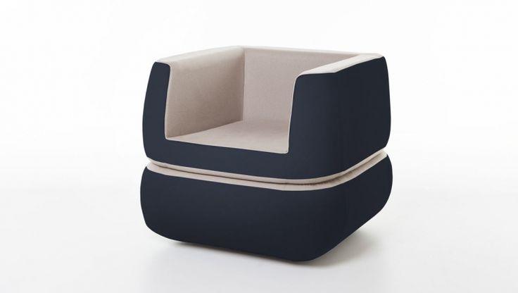 Polda / armchair / design Giuseppe Gioia / Formabilio