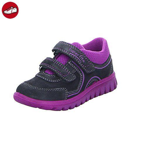 Superfit Kinder Sneaker Sport7 Mini Leder Schwarz - Superfit schuhe (*Partner-Link)