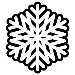 Snowflake Coloring Page 13
