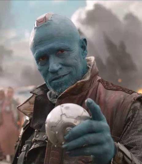 Guardianes de la Galaxia: Tráiler extendido con Michael Rooker como Yondu