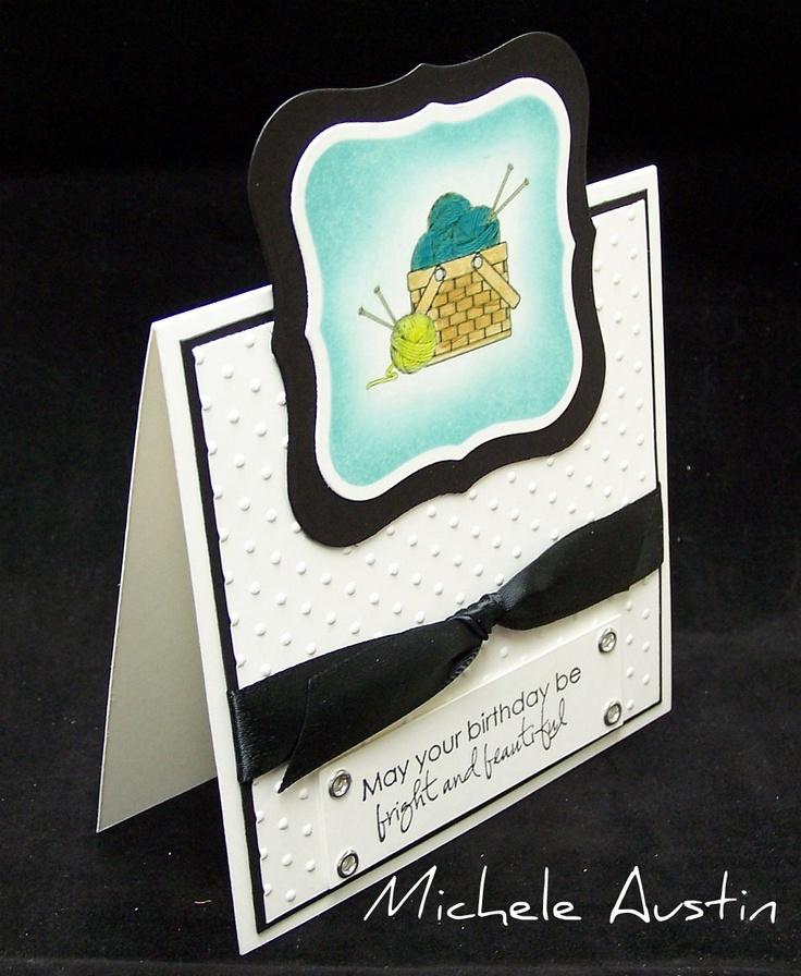 Knitting Birthday Card : Knitting birthday card cards pinterest
