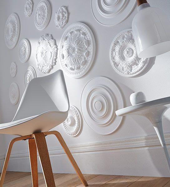 Les 25 Meilleures Ides De La Catgorie Rosace Plafond Sur