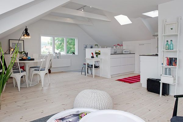 Attic apartment have something special that you can't really get anywhere else. It's mostly because of the location and the fact that all you have above yo