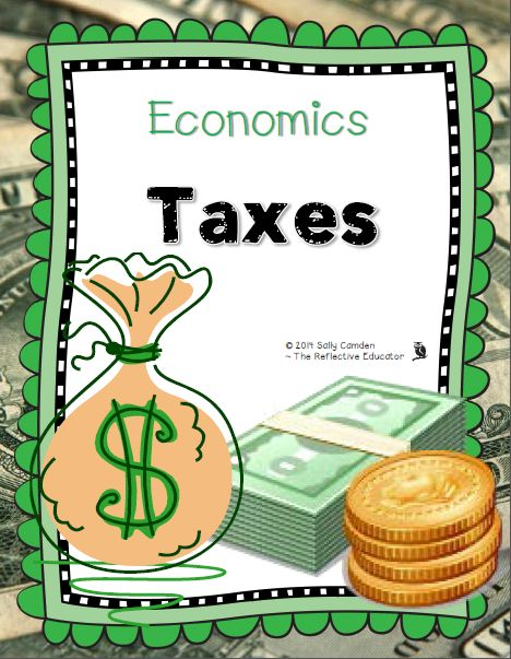 """Economics: Taxes"" is a Social Studies lesson designed to teach upper elementary students about different types of taxes, and why tax is collected. Students learn about income, sales, and property taxes from an informational text. They create a foldable about these three types of taxes, calculate tax, and respond to a writing prompt."